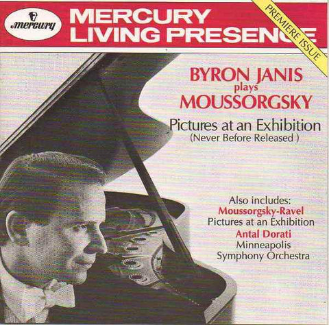 Byron Janis Plays Moussorgsky* / Antal Dorati / Minneapolis Symphony Orchestra / Ravel* / Frédéric Chopin ‎– Pictures At An Exhibition AudioCranium