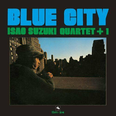 Isao Suzuki Quartet+1 ‎~ BLUE CITY, Three Blind Mice (TBM) CD AudioCranium