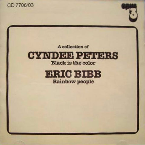Opus 3 A Collection of Cyndee Peters and Eric Bibb CD 7706/03 First Edition Collectors AudioCranium