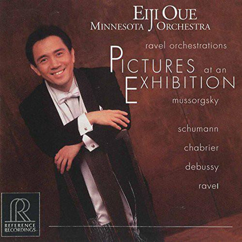 RR Reference Recording Pictures at an Exhibition Mussorgsky/Eiji Oue AudioCranium