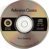 RR Reference Recording, Reference Classics FIRST SAMPLING RR-S1 CD AudioCranium