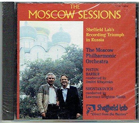 SL The Moscow Sessions, GLINKA TSCHAIKOWSKY, MUSSORGSKY, Sheffield Lab CD CD Chandos