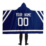 Toronto Custom Hockey Hooded Blanket| Unique hockey gift idea