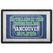 Vancouver Hockey Doormat| Unique hockey gift idea