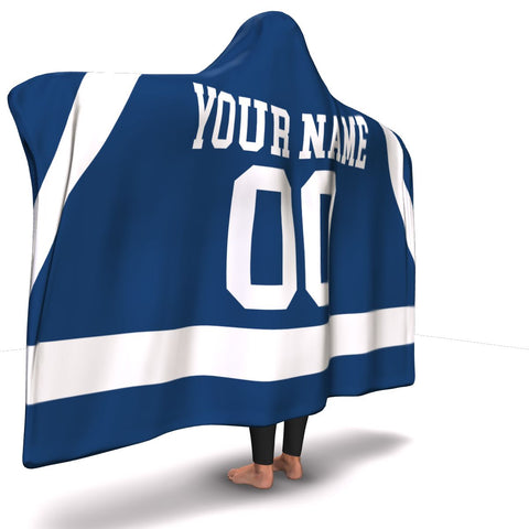 Penn State Hockey Hooded Blanket| Unique hockey gift idea