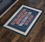 Washington Hockey Doormat| Unique hockey gift idea