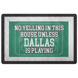 Dallas Hockey Doormat - HockeyAF