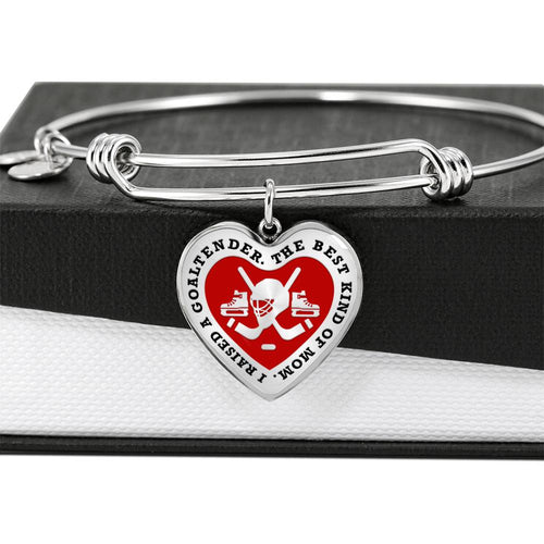 I Raised a Goaltender Bangle - HockeyAF
