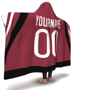Arizona Hockey Hooded Blanket| Unique hockey gift idea