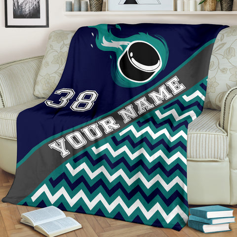 Hockey Teal| Unique hockey gift idea