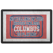 Columbus Hockey Doormat| Unique hockey gift idea