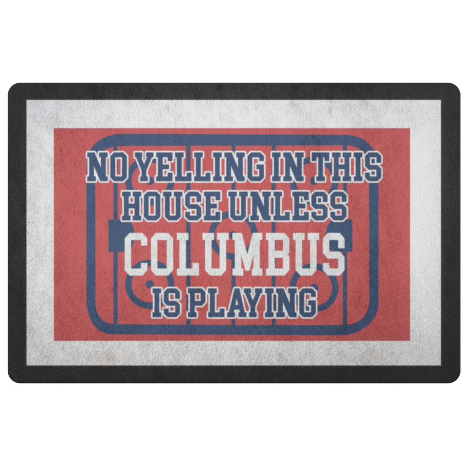 Columbus Hockey Doormat - HockeyAF