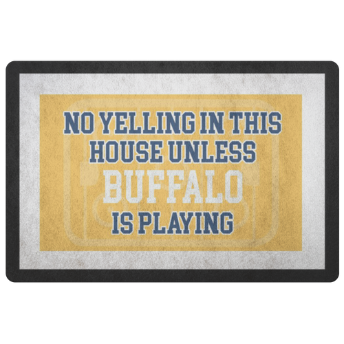 Buffalo Hockey Doormat - HockeyAF