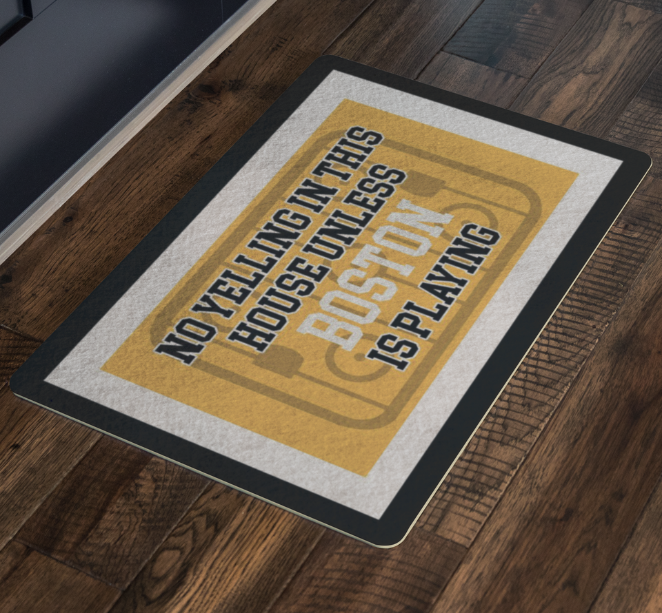 Boston Hockey Doormat - HockeyAF