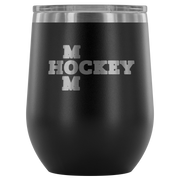 Hockey Mom Wine Tumbler| Unique hockey gift idea
