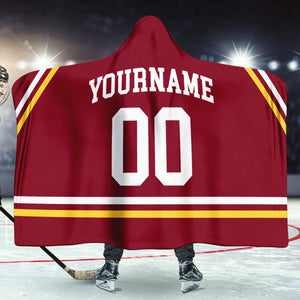 Minnesota College Hockey Hooded Blanket - HockeyAF