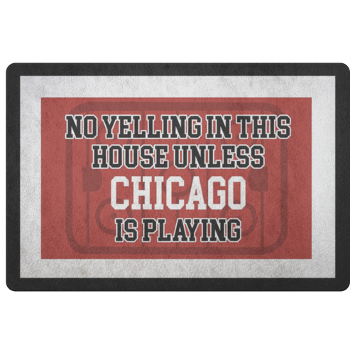 Chicago Hockey Doormat - HockeyAF