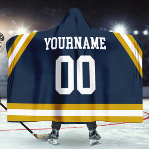 Notre Dame Hockey Hooded Blanket - HockeyAF