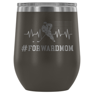Forward Mom Wine Tumbler - HockeyAF