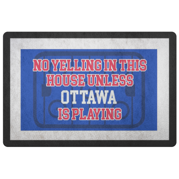 Ottawa Hockey Doormat| Unique hockey gift idea