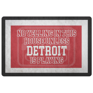 Detroit Hockey Doormat - HockeyAF