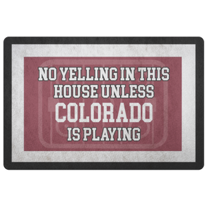 Colorado Hockey Doormat - HockeyAF