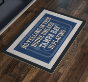 Tampa Bay Hockey Doormat| Unique hockey gift idea