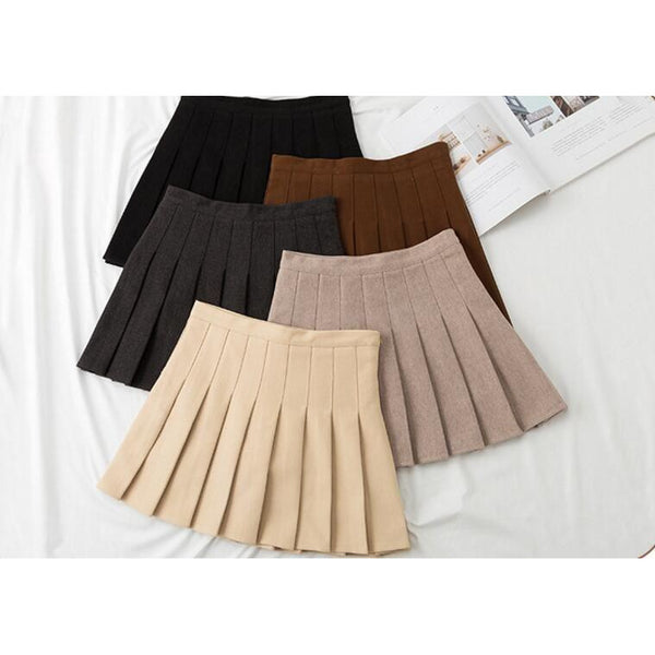 New Winter Pleated Skirt (PRE ORDER)