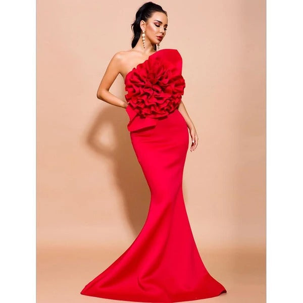 New Strapless Non Bandage Gown~