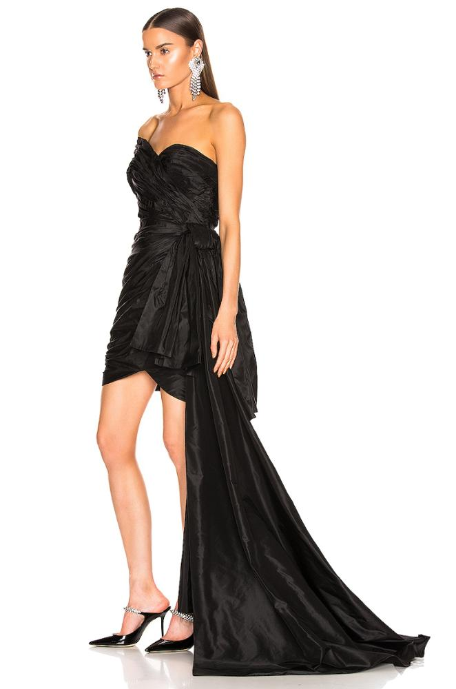 ONE SHOULDER STRAPLESS MAXI SEXY PARTY EVENING DRESS (PRE ORDER)