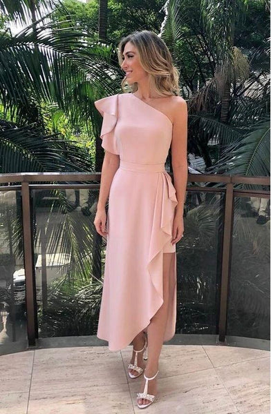 One Shoulder Prom Dress (PRE ORDER)