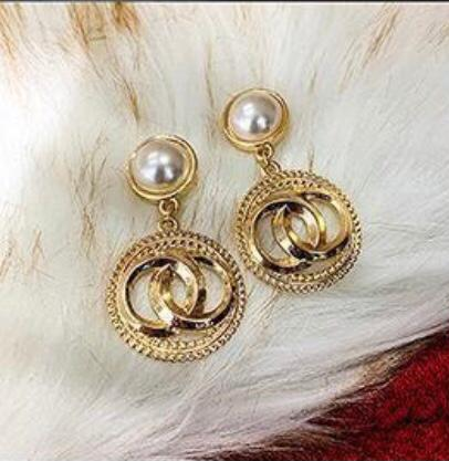 PEARL CHANEL EARRINGS