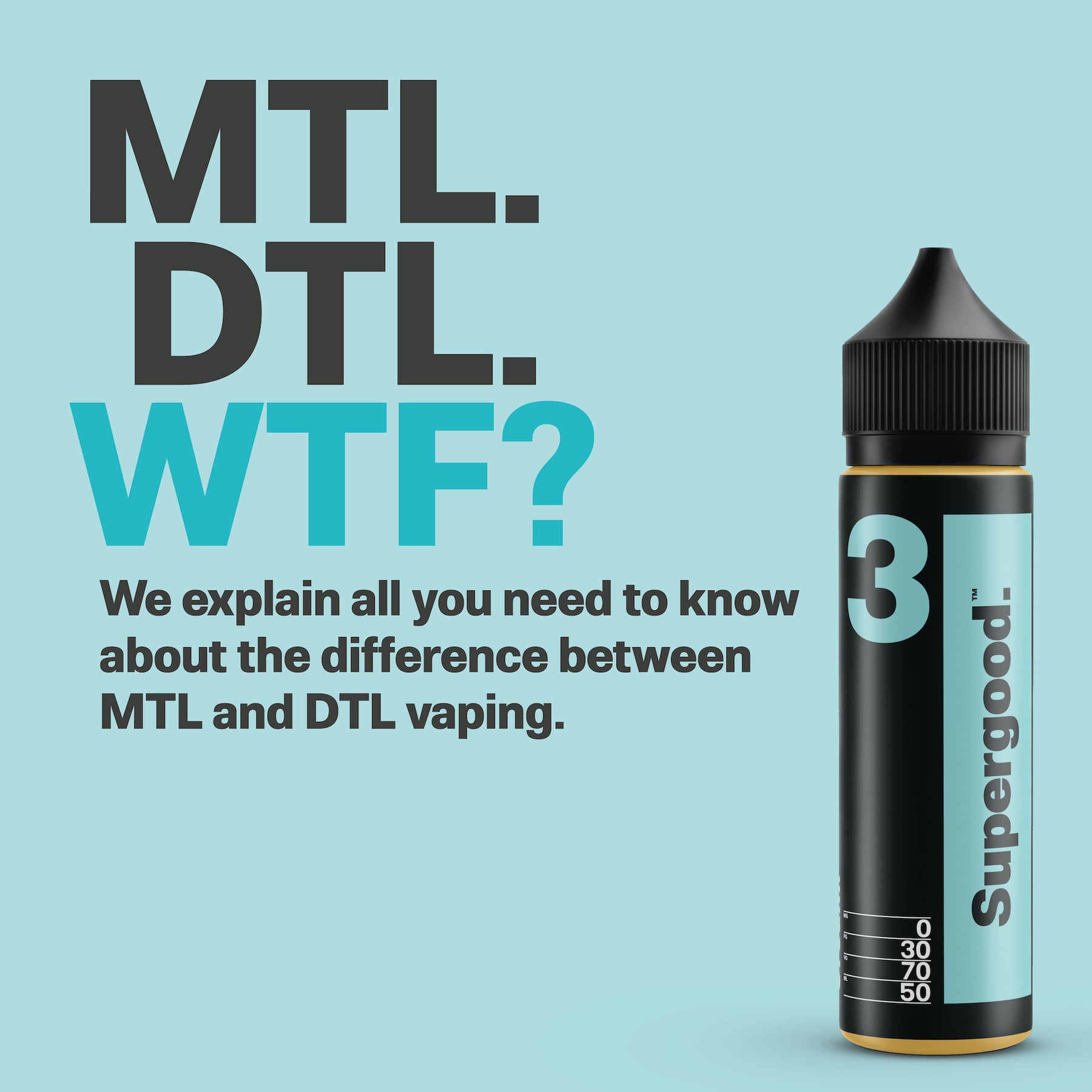 DTL & MTL Vaping Explained.