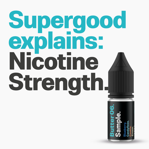 Supergood Explains - Nicotine Strength