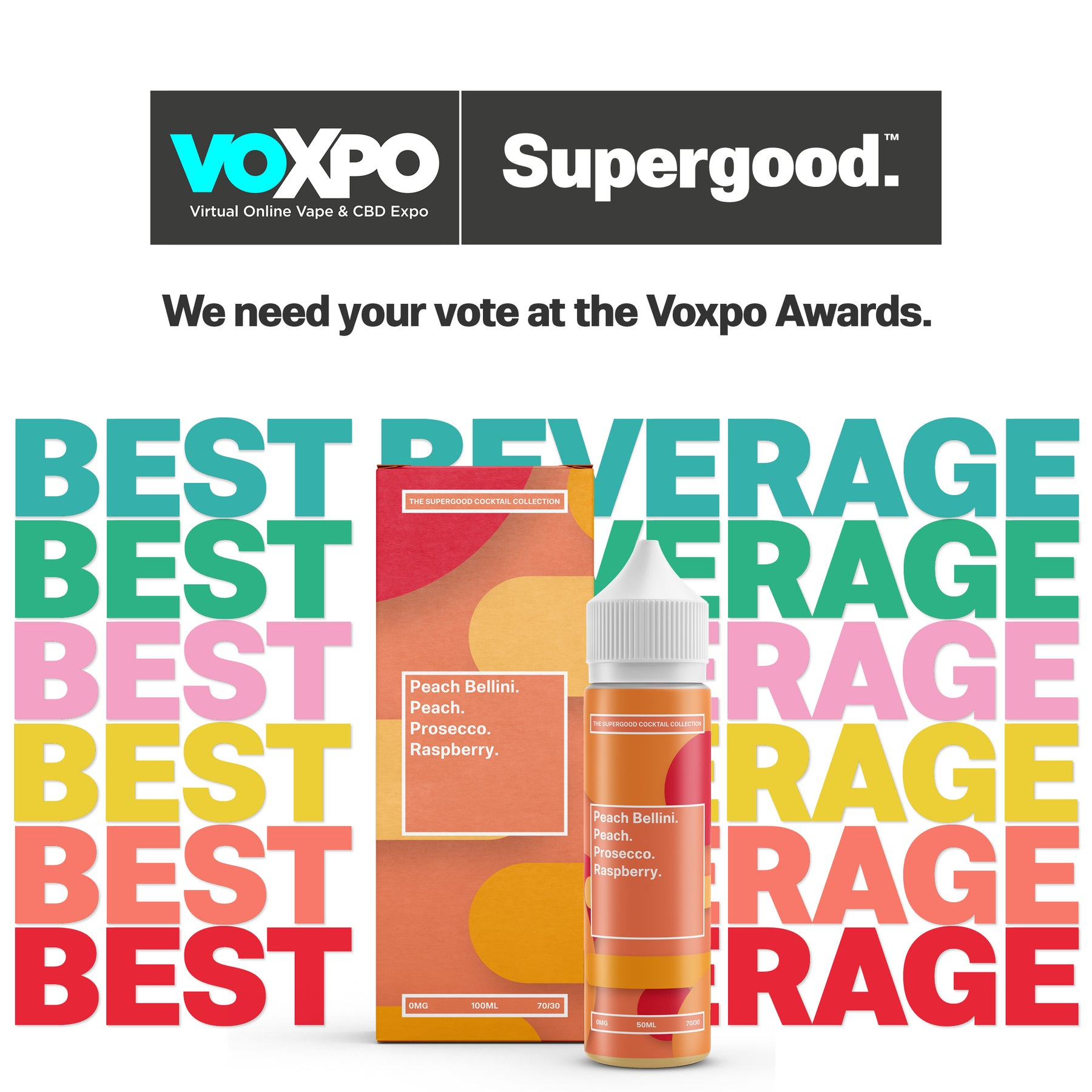 Voxpo Awards, Best Beverage.
