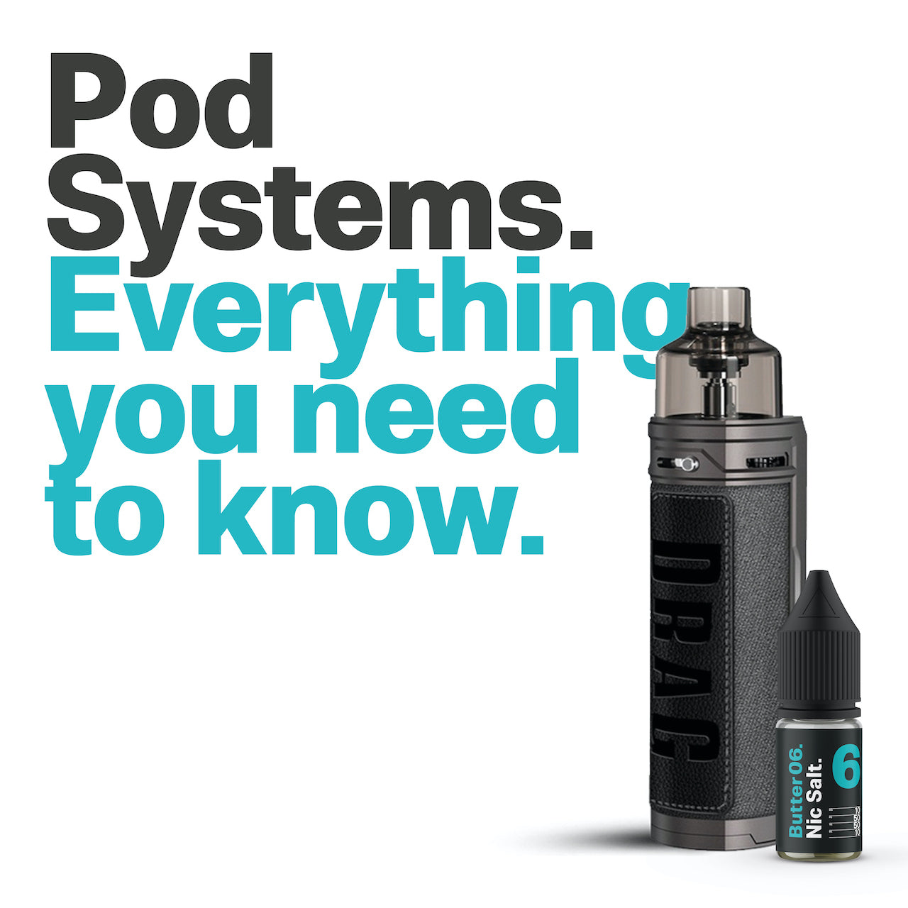 Pod Systems. Everything you need to know.
