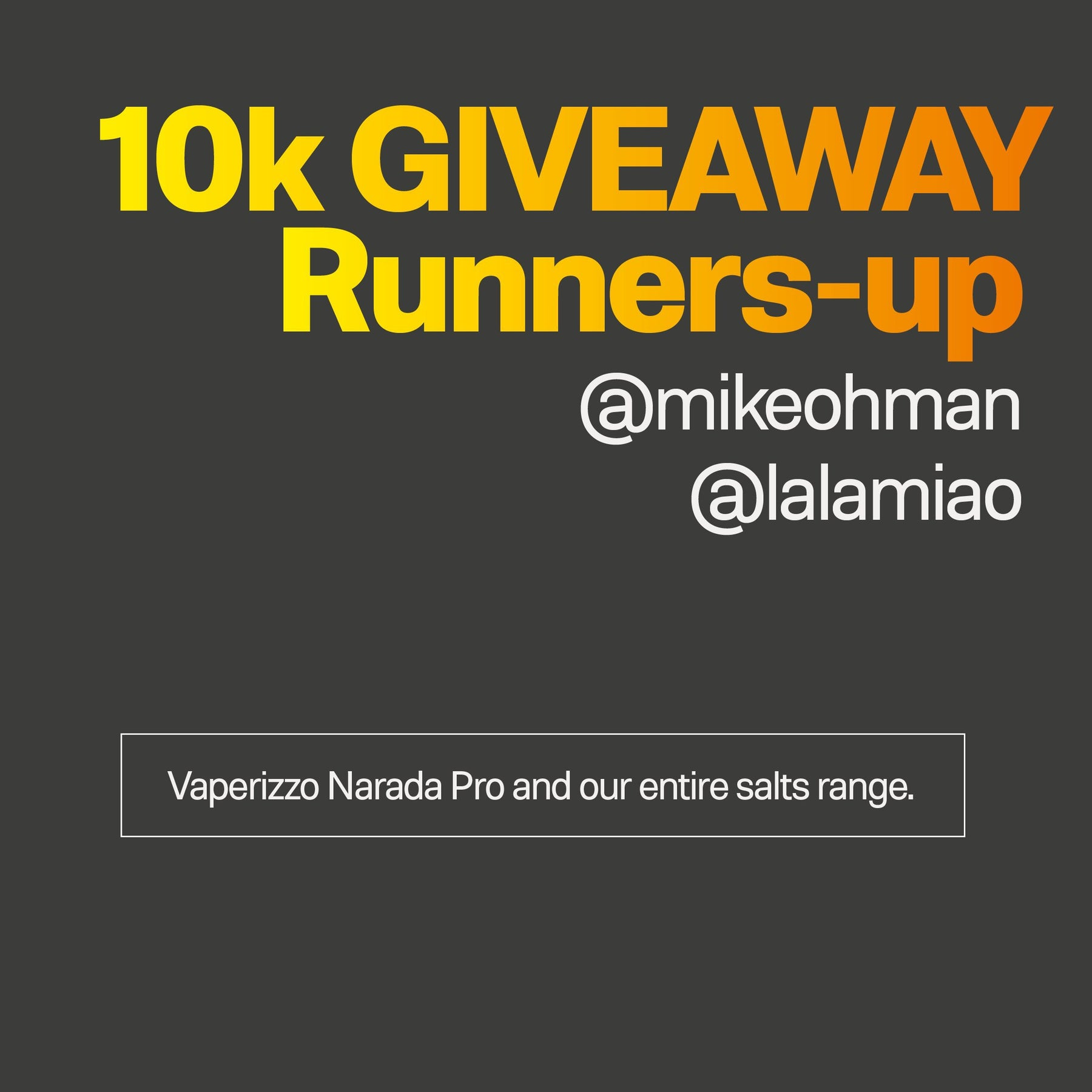 News-10k GIVEAWAY Runners-up | We Are Supergood.