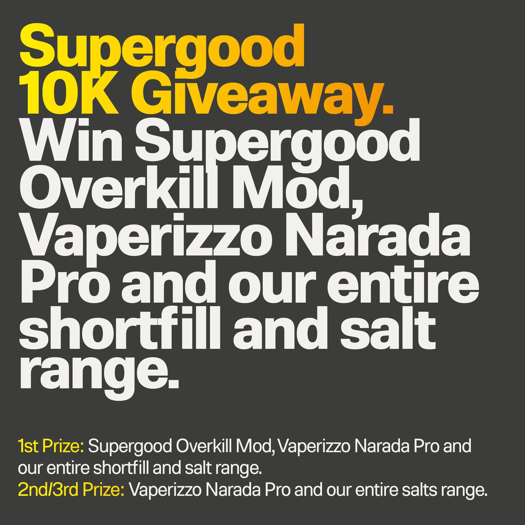 News-10k Giveaway | We Are Supergood.