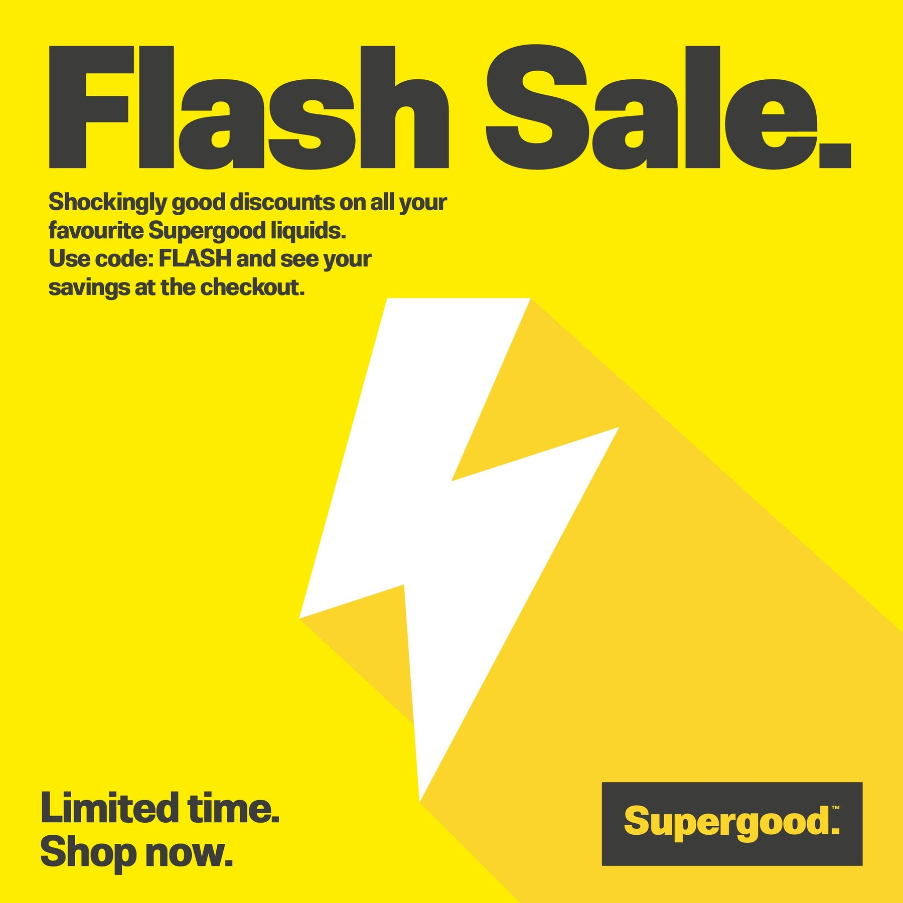 June Flash Sale!