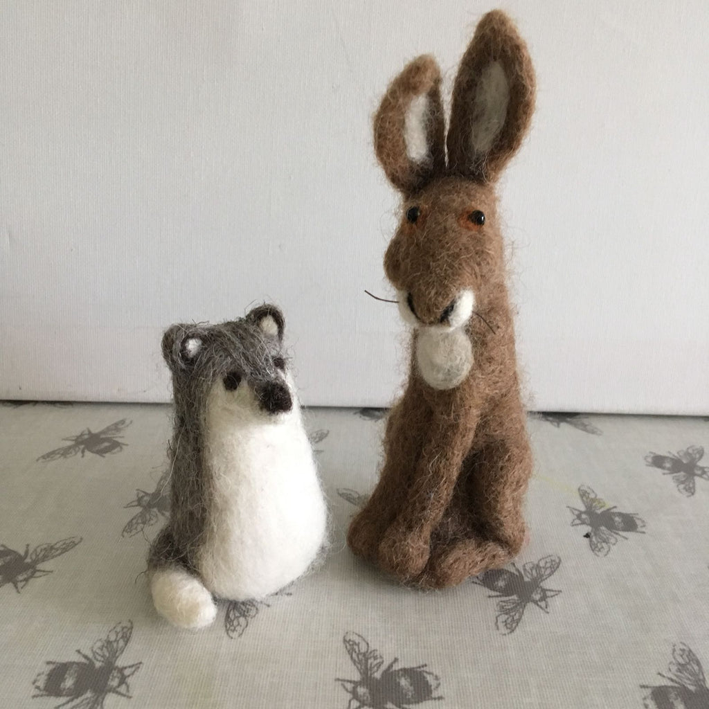 Needle Felt Animals - Creative Workshops Yorkshire