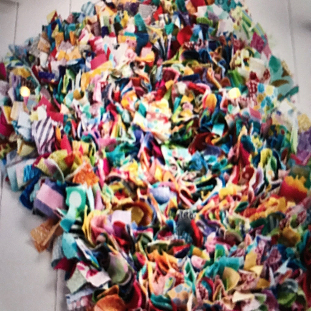 Rag Rug - Creative Workshops Yorkshire
