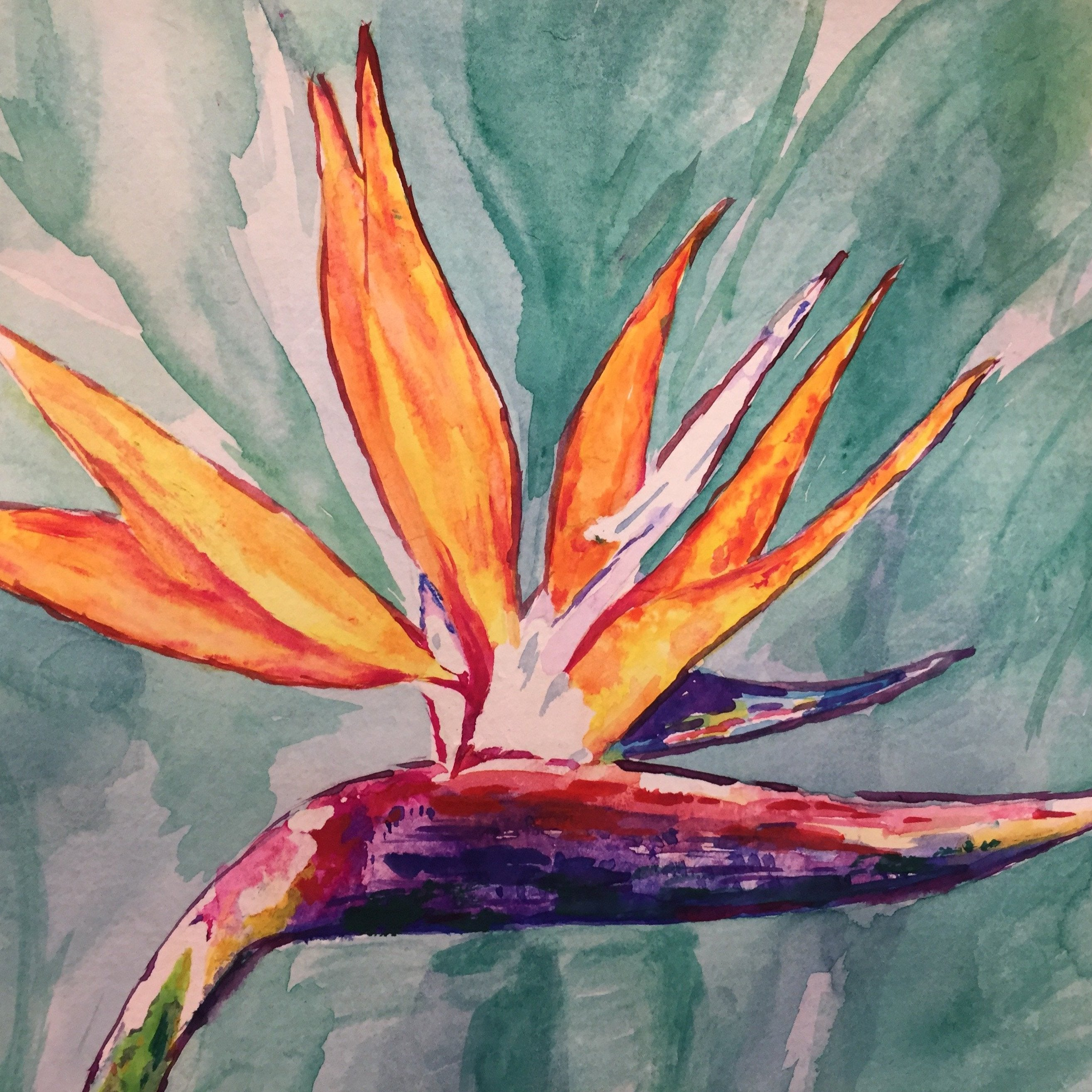 Watercolour Flowers - Creative Workshops Yorkshire