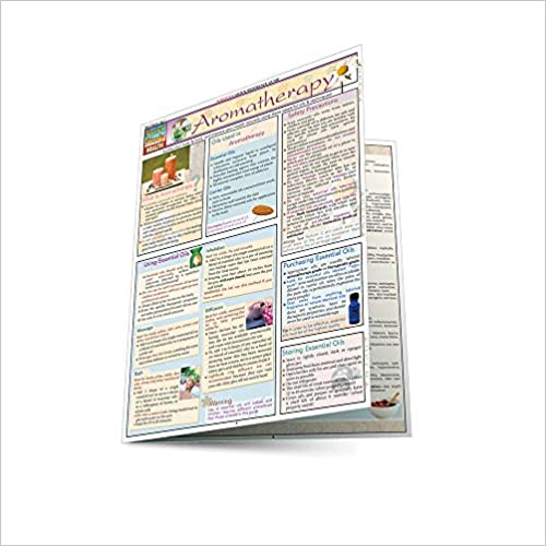 Aromatherapy Laminated Reference Guide
