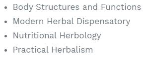 Certified Master Herbalist (CMH)