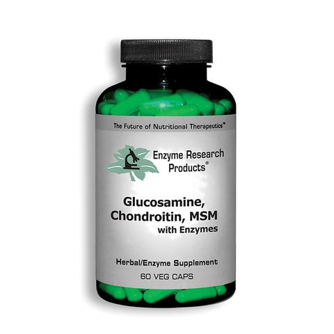 Glucosamine, Chrondroitin, MSM with Enzymes by ERP