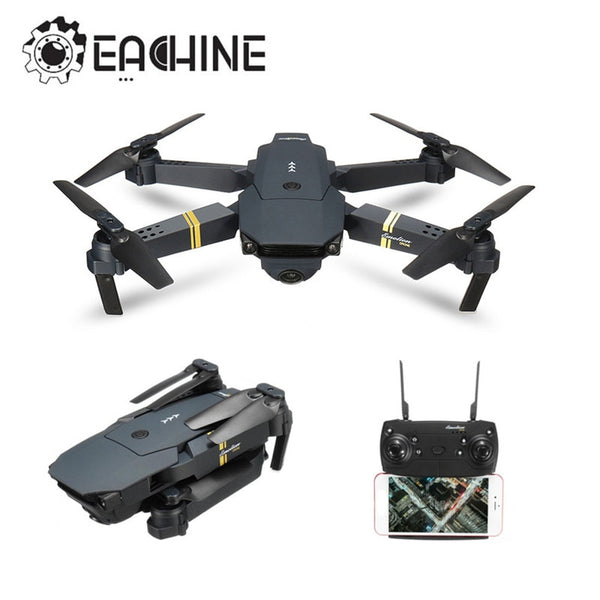 Eachine E58 WIFI FPV With Wide Angle HD Camera High Hold Mode Foldable Arm RC Quadcopter RTF Drone VS VISUO XS809HW