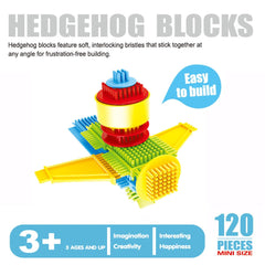 3D Hedgehog Blocks