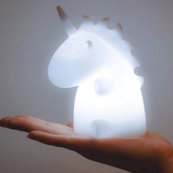 Cartoon Glow Unicorn