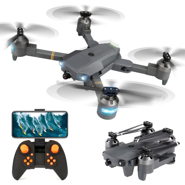 XT-1 Foldable FPV Selfie Drone 480P 720P 1080P WIFI HD Camera Wide Angle Folding RC Quadcopter Toy Altitude Hold VS X12 E58 Dron
