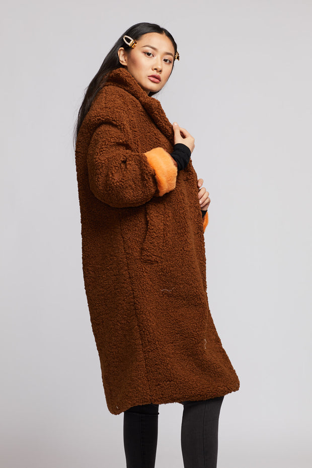 Longline Teddy Coat - Berness
